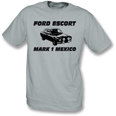 Ford Escort Mark 1 camiseta de México X-Grande, colorea gris