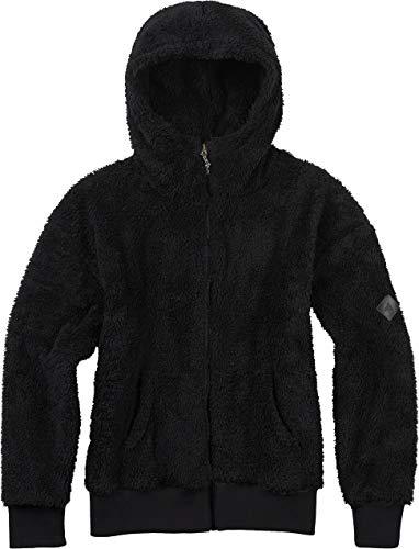 Burton Damen Lynx Full-Zip Hoodie, True Black, L - Damen Full Zip