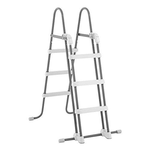 Intex Deluxe Pool Ladder - Poolleiter - Schwimmbadleiter - Sicherheitsleiter - 91-107 cm (Poolhöhe)