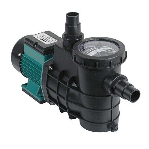 Forever Speed Pompa di Filtrazione Pompa da Piscina Pompa con Filtro per Circolazione 5000L/H