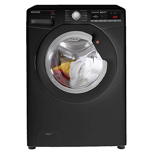 Hoover DXOA68LB3B/1-80 A+++ 8kg 1600 Spin Washing Machine in Black Best Price and Cheapest