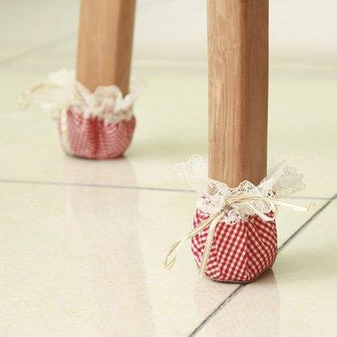 DADAO-Tissu chiffon seize pieds de table, meubles, tapis, table et