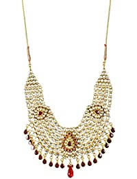 Padam Shree Gold Plated Strand Necklace For Women (Padam Shree_ 175)