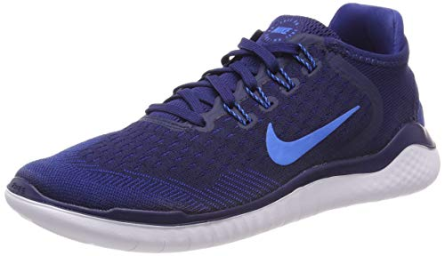 Nike Herren Free Rn 2018 Laufschuhe, Blau Void/Photo Blue/Indigo Force 403, 40.5 EU