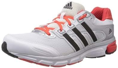 adidas Men's Nova Cushion M Run White, Black and Hirere Mesh Running Shoes - 11 Uk