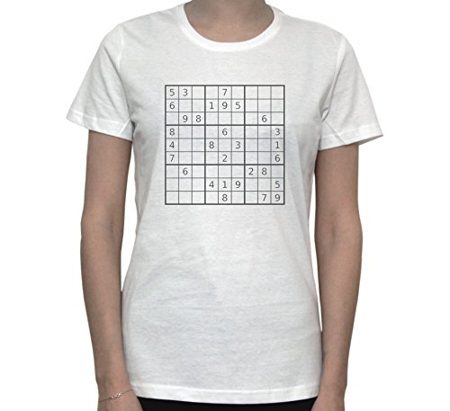 SUDOKU Graphic Women's T-Shirt Blanc