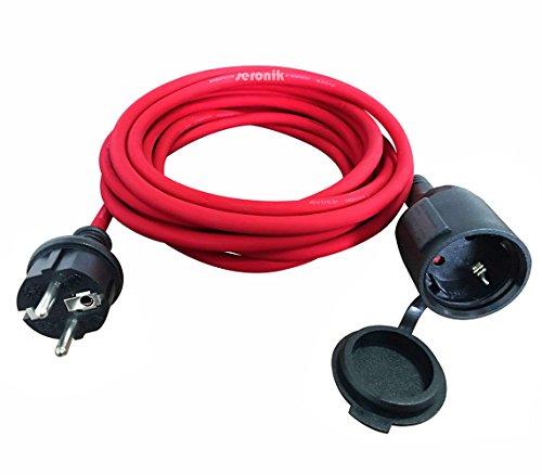 Gummileitung Ring Rot