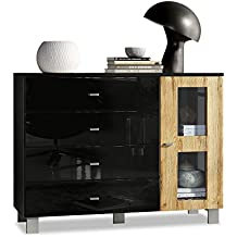 Suchergebnis auf Amazon.de für: wohnzimmerschrank eiche rustikal