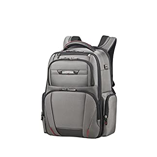 SAMSONITE Pro-DLX 5 – Backpack for 15.6» Laptop 1.4 KG Mochila Tipo Casual, 44 cm, 20 Liters, Gris (Magnetic Grey)