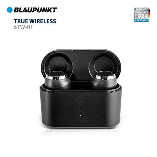 Blaupunkt BTW01 True Wireless HD Sound Bluetooth Earbuds with Touch Controls Image 2