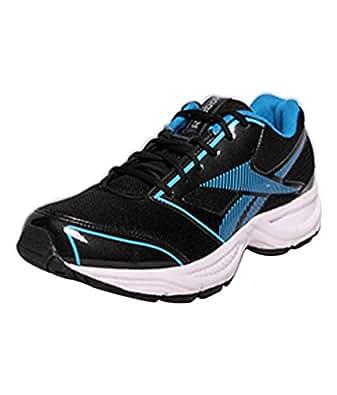 Reebok M43997 -BLACK/BLUE Running Shoes for Men