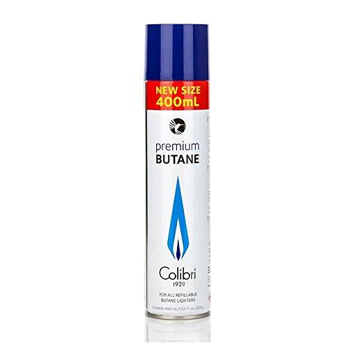 COLIBRI Bombola Gas Butano Puro Alta Qualità - 400ml  Bombola in Metallo