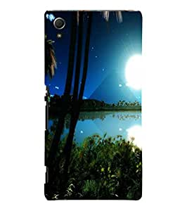 printtech Nature Egypt View Back Case Cover for Sony Xperia Z4::Sony Xperia Z4 E6553
