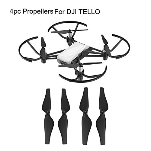 LCLrute Hohe Qualität Für DJI Tello RC Quadcopter Ersatzteile 2 Paar CW CCW Schnellspanner (Schwarz)