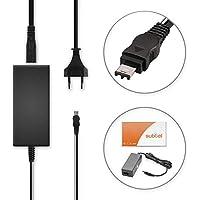 subtel® Fuente de alimentación Sony HXR-MC2500, HXR-NX100, Cyber-Shot DSC-F707 -F717 -F828, DSC-R1, DSC-S30, DCR-PC8E - ca. 3m, AC-L100,AC-L10,AC-L15, 8.4V cable de corriente