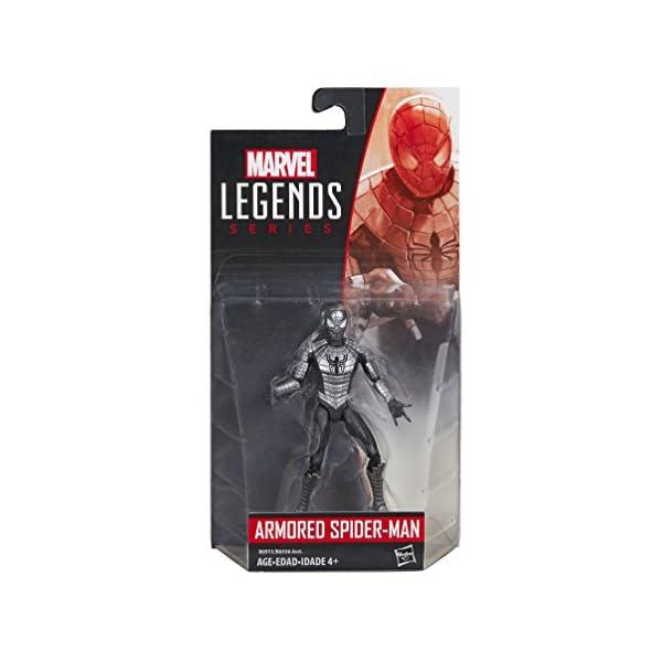 Marvel Legends Series Armored Spider-Man (9,5 cm) 2