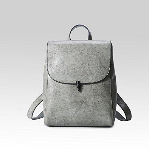 la nuova moda borsa di pelle e il vento fan di borsa.,brown grigio chiaro