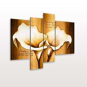 riesenformat leinwandbilder xxl set 4 teilig auf aufgespannt auf holzspannrahmen wandbilder. Black Bedroom Furniture Sets. Home Design Ideas