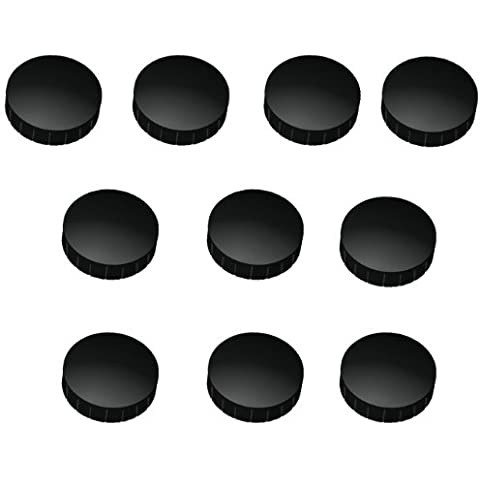 10x Imanes 20mm de diámetro en 7colores a elegir, antiadherente Imanes, frigorífico magnético, magnético para pizarra magnética, pared, Whiteboard Imán redondo, color