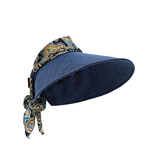 Chytaii Damen Visor blau dunkelblau 54-60cm