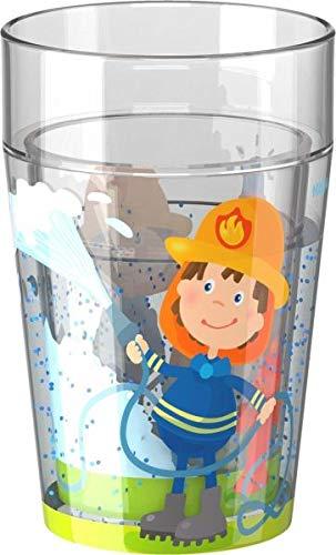 Glitzerbecher Feuerwehr