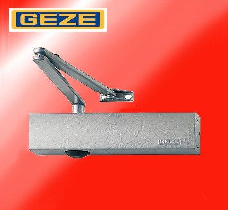 Preisvergleich Produktbild Türschließer GEZE TS4000 TS 4000,  silber Komplettpaket inkl. Montageplatte und Normalgestänge