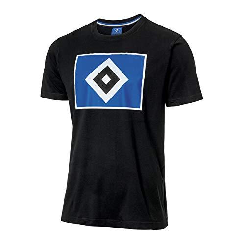 Hamburger SV HSV Shirt/T-Shirt ** Raute schwarz ** 29900 (L)