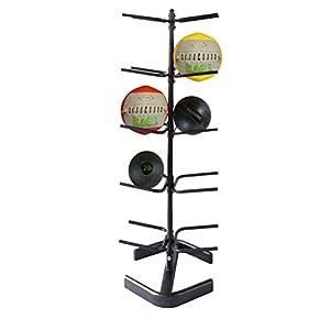 RAGE Fitness Medizinball Rack (5Etagen Medizin Ball Rack)
