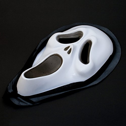 Scream Horror Maske Halloween Karneval Fasching Vollmaske (Halloween-masken)