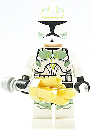 LEGO Star Wars Minifigur - Clone Trooper Kommandant aus 7913 mit Zubehör genau wie (Clone Trooper Wars Kommandanten Star)