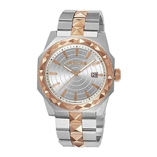 Roberto Cavalli RV1G018M0091 Reloj de Pulsera para Hombre