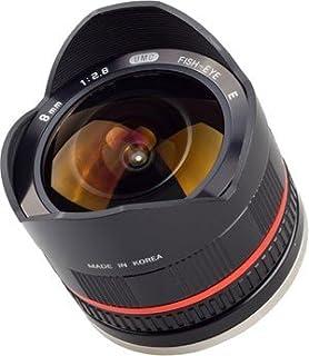 Samyang 8 mm f/2.8 UMC FISH-EYE E - Objetivo para Sony (distancia focal 12-8mm, apertura f/2.8-22, diámetro: 56mm) color negro (B008TVOCRO) | Amazon price tracker / tracking, Amazon price history charts, Amazon price watches, Amazon price drop alerts