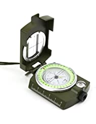 GIVESURPRISE COMPASSES MLC-06 Military High Precision Lensatic Prismatic Compass with Pouch by GIVESURPRISE