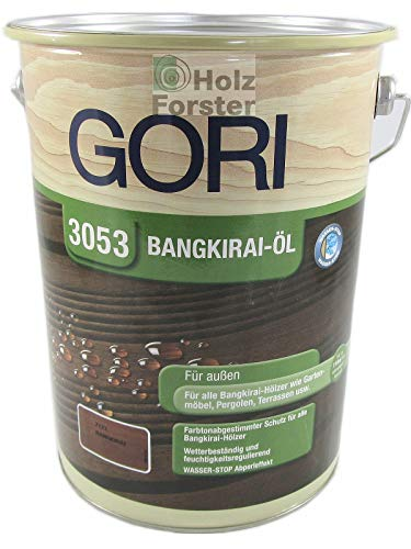 Gori 3053 Holz-Öl 7121 Bangkirai, 5,00 Liter
