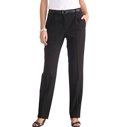 Anne Weyburn Donna Pantaloni Con Pinces Biestensibili, Cavallo. 78 Cm