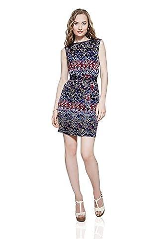 Sommerkleid Electra kurzes Etuikleid mit Zick-Zack Streifen Damen Kleider von der Marke Nothing But Love (38)