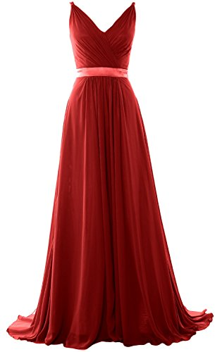 macloth-women-v-neck-mid-open-back-long-bridesmaid-dress-formal-evening-gown-eu34-burgundy