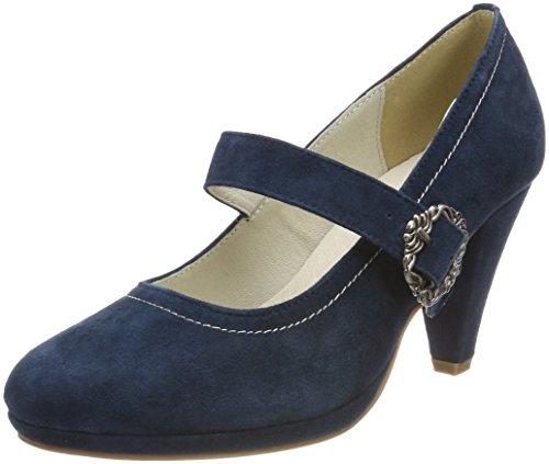 HIRSCHKOGEL 3005722, Botas para Mujer, Azul (Jeans 274), 42 EU