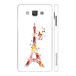 Enthopia Designer Hardshell Case Musical Eiffel Tower Back Cover for Samsung Galaxy E5