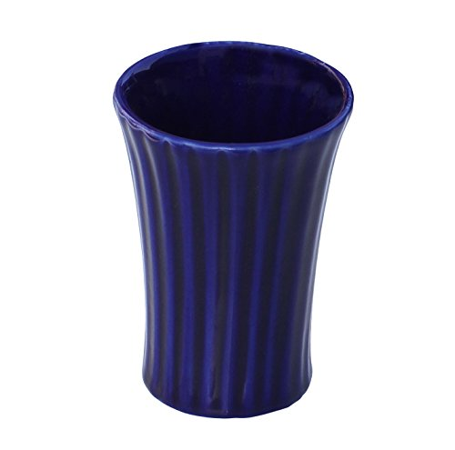 SouvNear Zahnbürste / Zahnpasta Halter - 8.4 cm - blau - handgefertigt...