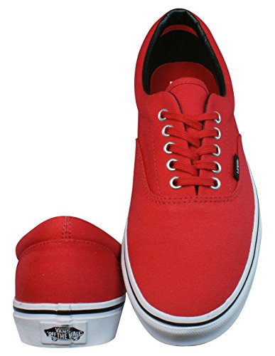 Vans Unisex Era Mlx, Baskets Basses Homme Rouge