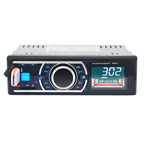 Auto Stereo Audio In-Dash Aux-Eingang FM-Empfänger SD USB MP3 Radio Player (Schwarz)