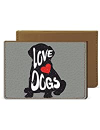 Dog Love Credit Card Wallet By Robobull