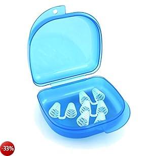 4 anti-russamento dilatatori nasali contro il russare fastidioso, Snore Stopper Anti tappo del russare contro il russare, russare - con memorizzazione antibatterica e pratico da Blissany