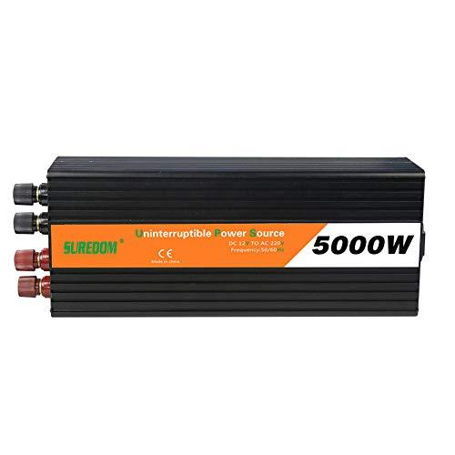 5000 W DC 12/24/48 V bis 220 V AC Wechselrichter USV unterbrechungsfreie Stromversorgung Solarkonverter PV-Wechselrichter Lade integrierte Maschine (DC 48V to AC 220V)