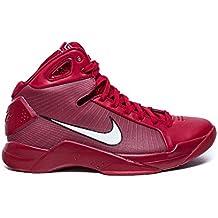 Zapatillas de baloncesto Nike Hyperdunk '08 para hombre, gimnasio, rojo, blanco 820321 601 (6.5)