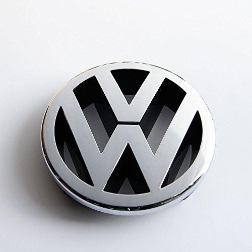 Recambios Originales Volkswagen Emblema parrilla delantera 130mm (GOLF 5, Caddy, EOS, Jetta, Polo, Touran)