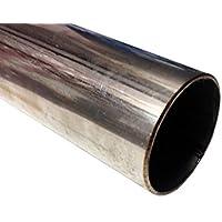 T304/Edelstahl Rohr//Schlauch Abschnitt 50/x 11,4/cm 500/mm x 115/mm 1,5/mm Wand