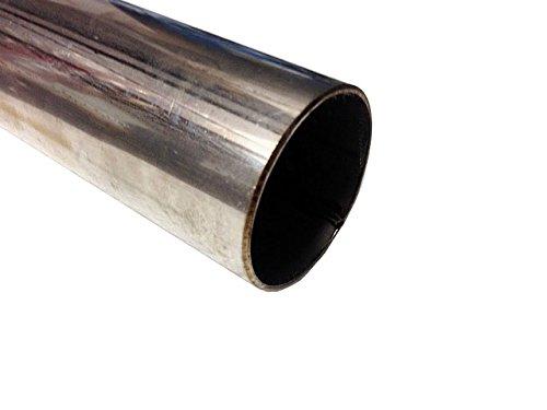 Preisvergleich Produktbild 500mm x 60mm (50x 6cm) Abschnitt (1,5mm Wand) T304Edelstahl Rohr/Schlauch