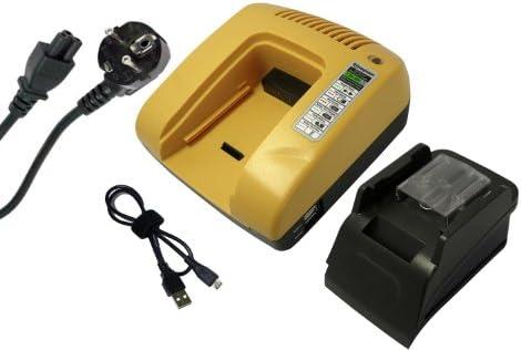 PowerSmart® 14.40V Li-ion veloce Caricabatterie Caricabatterie Caricabatterie per Makita MUS153D, ST120D, ST420D, TD130D, TD131D, TD132D, TD133DRFX, TD133DRFXB, TD133DRFXL, TD133DRFXP, TD133DRFXW, TD134DRFX, TD134DRFXB, TD134DRFXL, TD134DRFXP, TD134DRFXW, TD135D (Giallo)   Del Nuo dac743